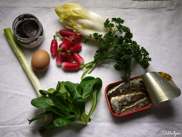 Soccas aux légumes d'hiver