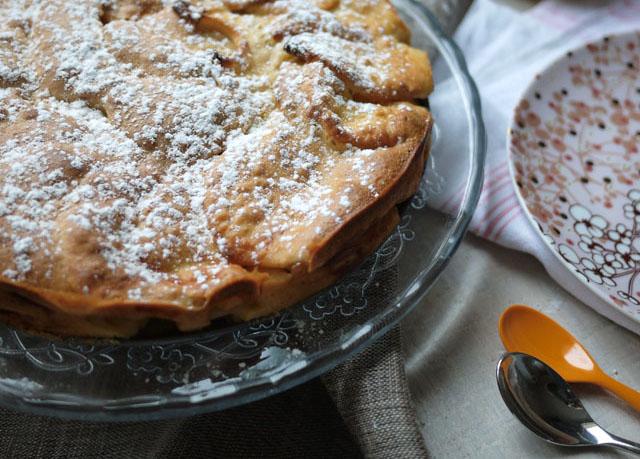 Sharlotka, le gâteau aux pommes russe