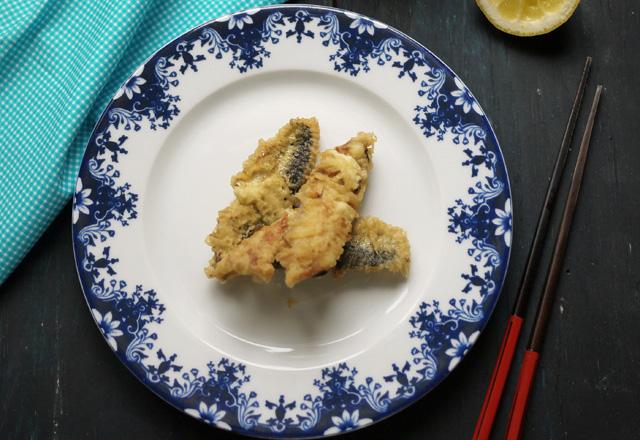 Tempuras de sardines