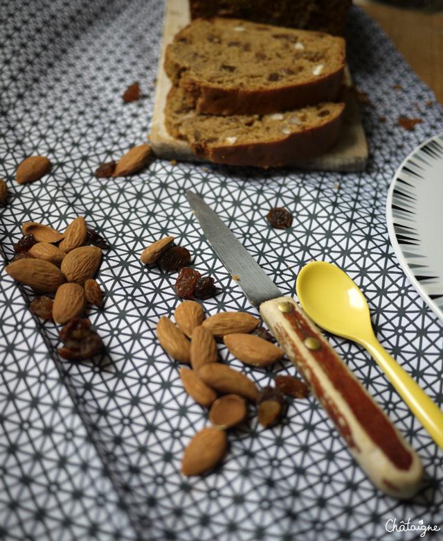 Cake à la farine de sarrasin