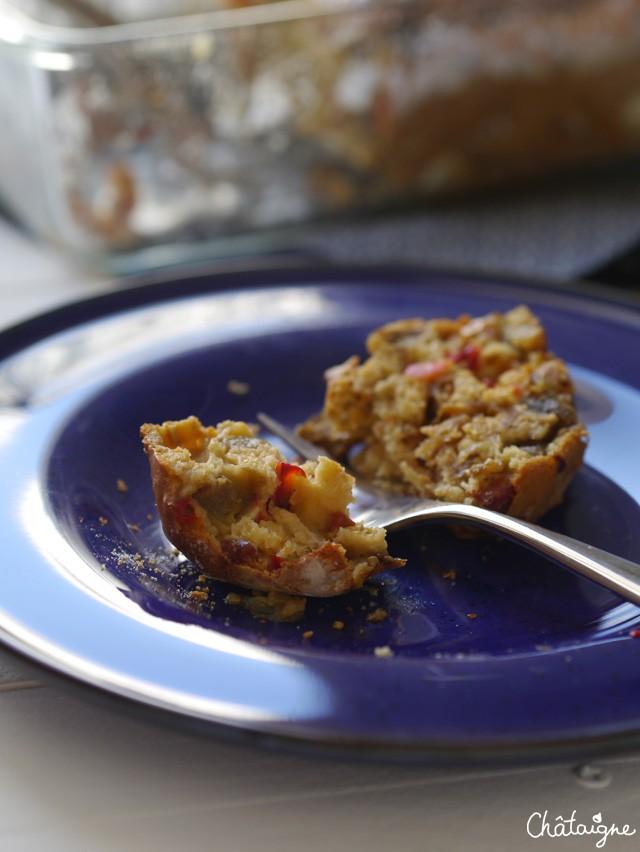 Cake chorizo-aubergines (5)