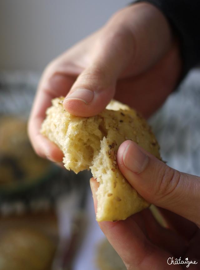 Petits pains rapides pour gens pressés