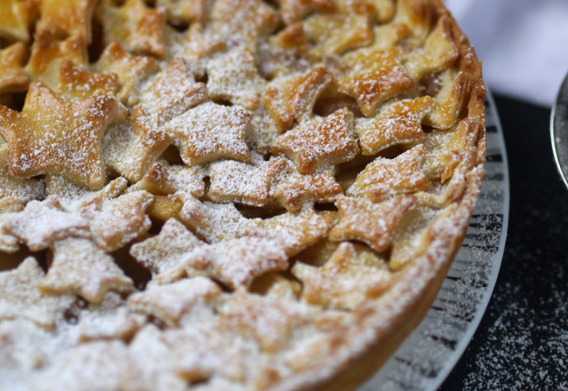 Tarte pommes & châtaignes [comme celle de ma grand-mère]