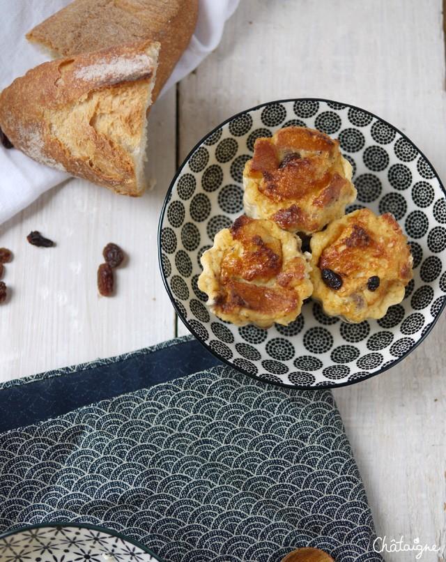 Puddings aux raisins (4)