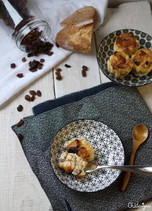 Puddings aux raisins (6)
