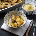 Couscous de poulet aux légumes racines
