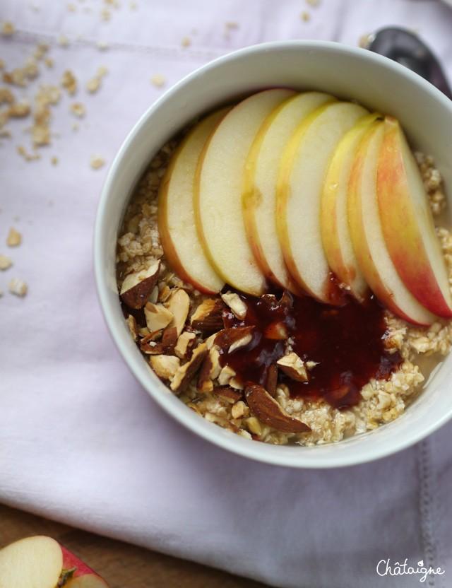 Porridge aux pommes (4)