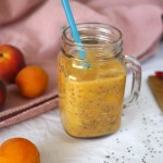 Smoothie pêches-abricots