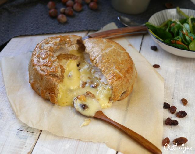 Camembert en croûte de sarrasin