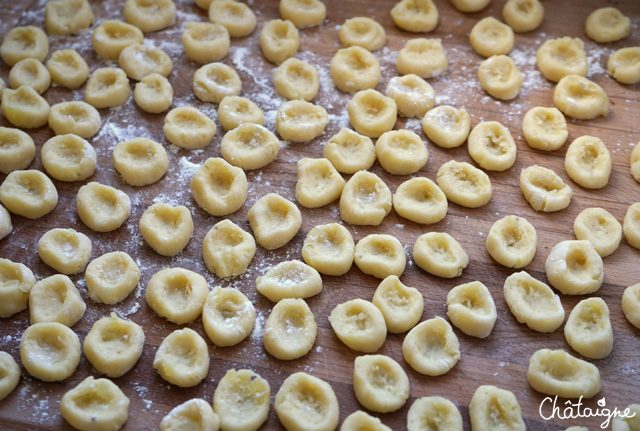 Gratin de gnocchis aux cèpes [homemade]