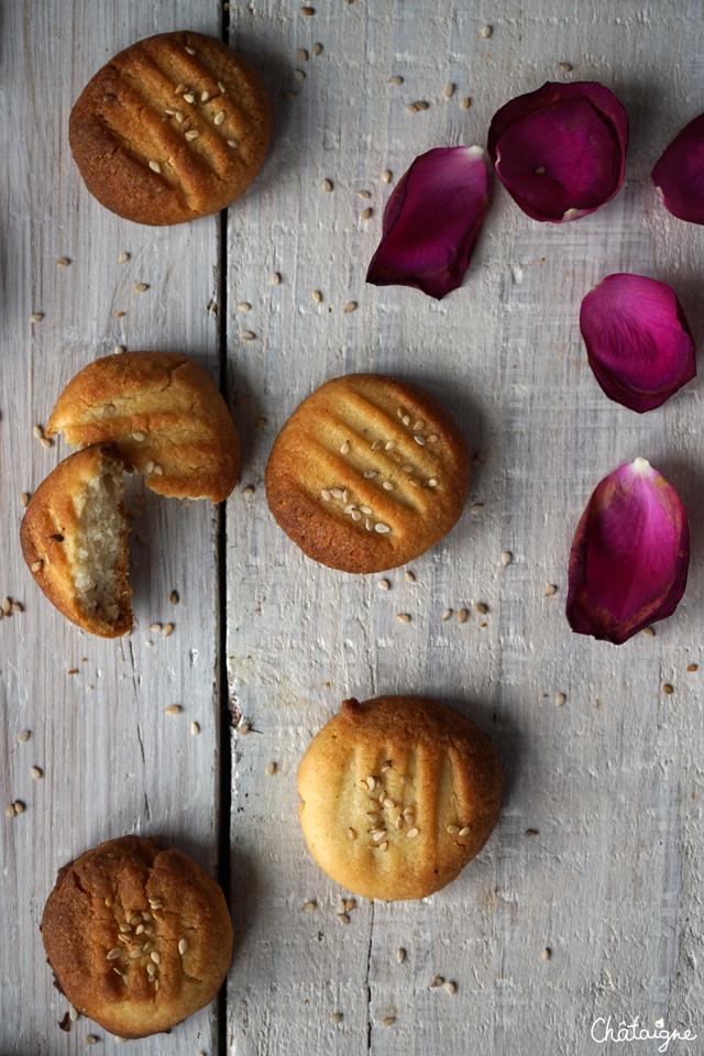 biscuits au tahin