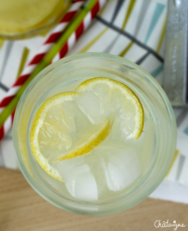 Citronnade citrons-gingembre