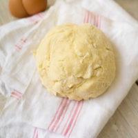 La pâte brisée sans beurre, sans huile