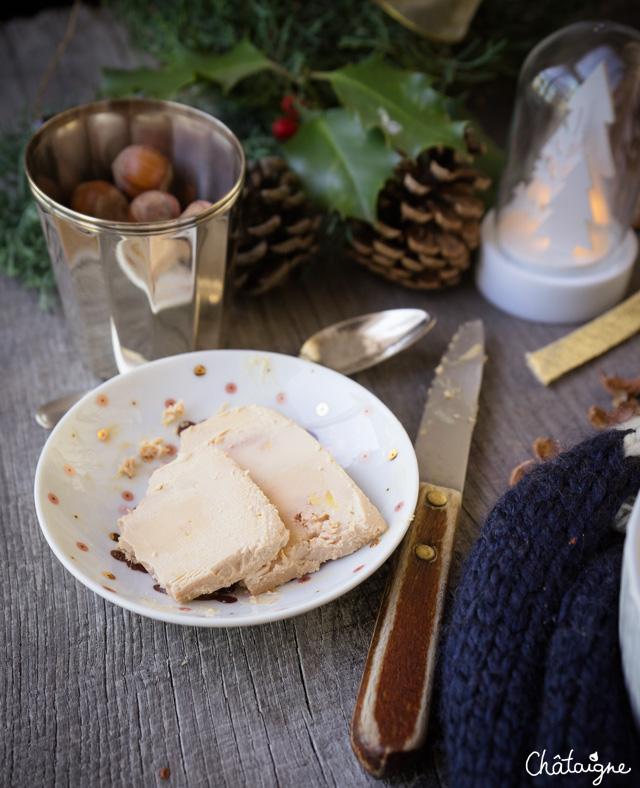 Velouté de panais au foie gras