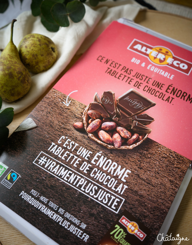 Charlotte poires-chocolat