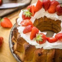 Recettes autour de la fraise et de la rhubarbe