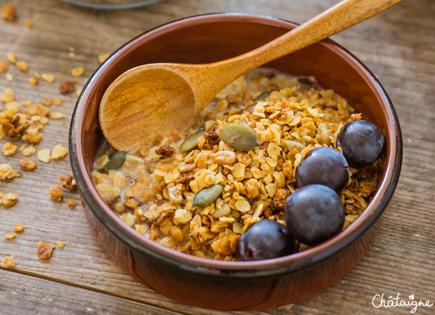 Granola aux graines [tournesol, lin et sésame]