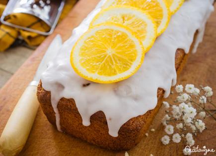 Cake à l'orange et aux carottes