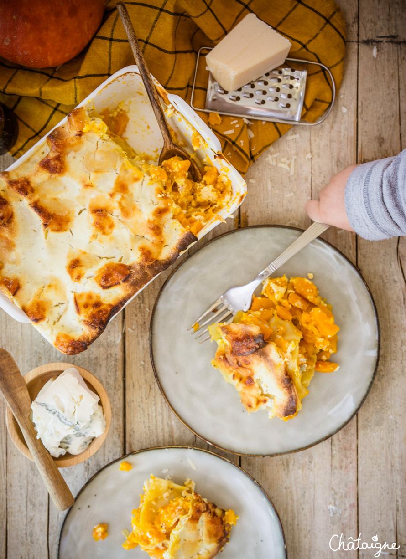 Lasagnes au potimarron