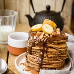 Pancakes au levain [au chocolat]