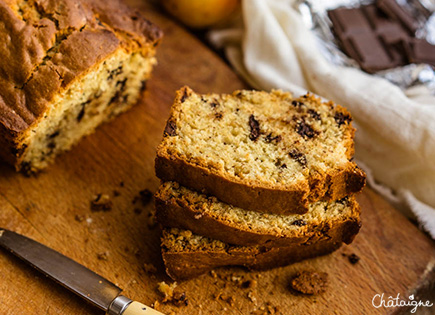 Cake aux pépites de chocolat [le goûter facile]