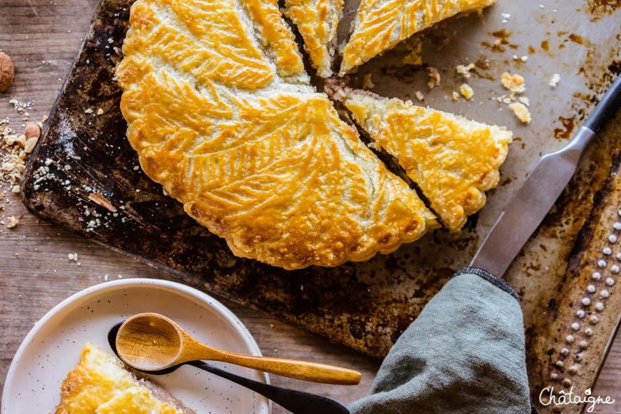 galette des rois à la crème de marrons