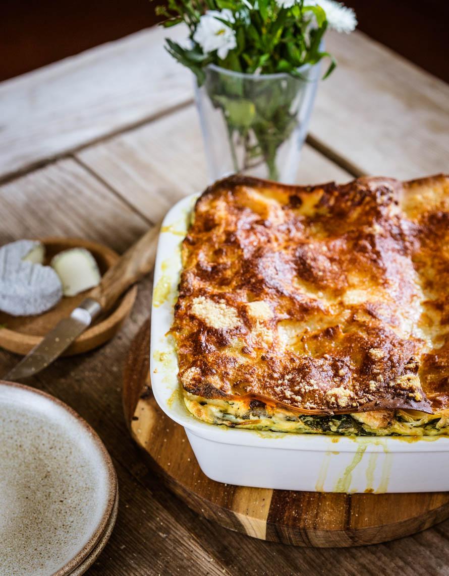 Lasagnes épinards