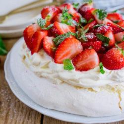 Pavlova aux fraises [le dessert ultra gourmand]