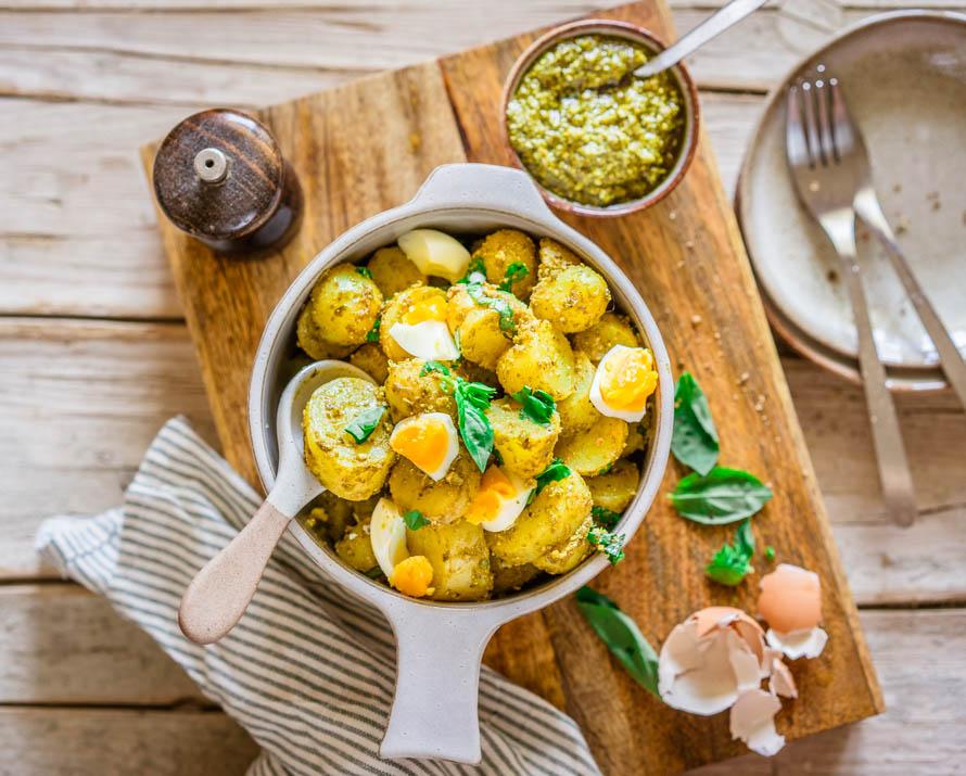salade de pommes de terre au pesto