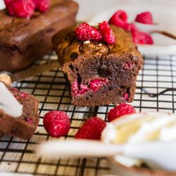 Gâteau chocolat-framboises [le petit plaisir de l'été]