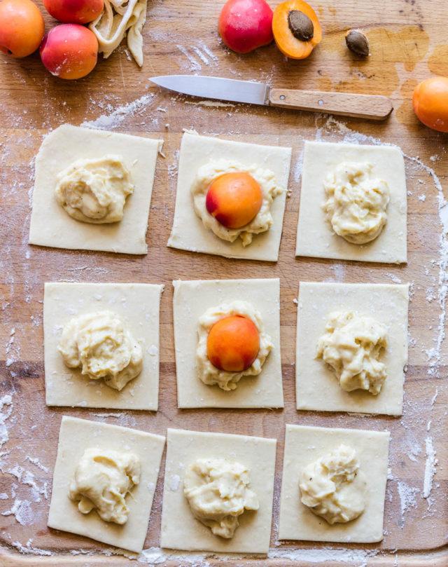 Tartelettes aux abricots [le petit dessert trop bon]